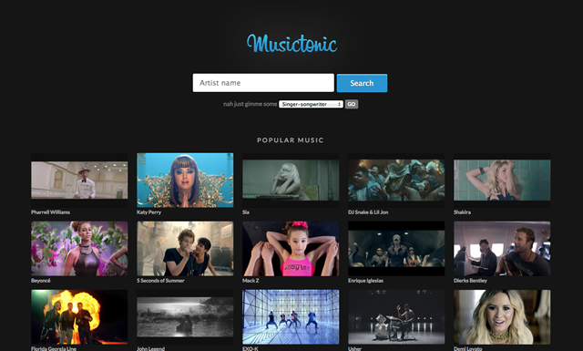 Musictonic – Music Video Awesomeness.